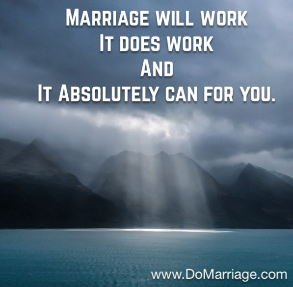 Marriage with God in the center works